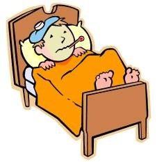 bimbo con febbre